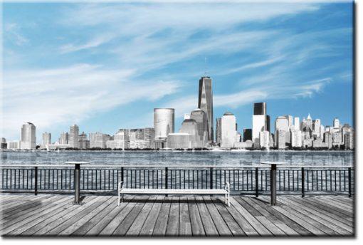 obrazy z miastem