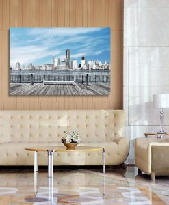 dekoracje z panoramą