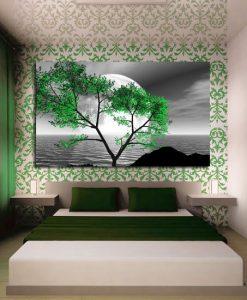 dekoracje z drzewem