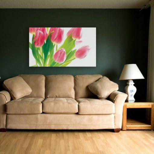 dekoracje z tulipanami