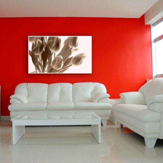 obraz dekoracyjny tu;opany w sepii