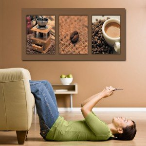 obraz kawowy - Obrazy kawa