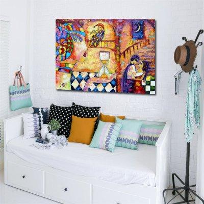 kolorowa dekoracja pokoju