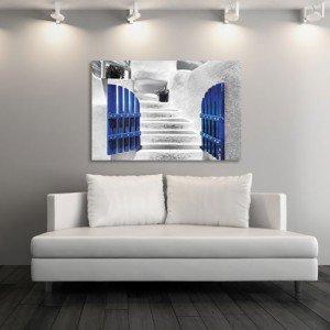 obraz Grecja bielone schody