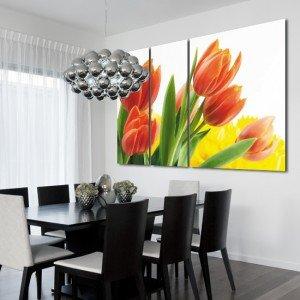 tryptyk tulipany