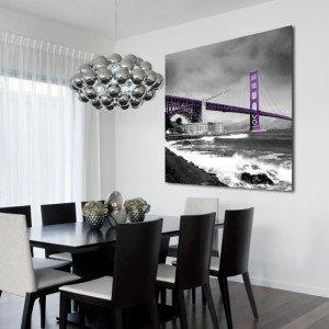 Obraz most Golden Gate - ozdoby z mostami