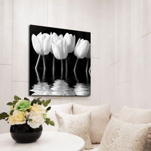 obrazy na płótnie tulipany
