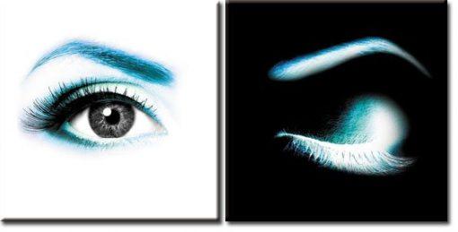 dyptyki z oczami