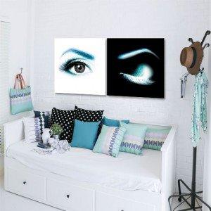 dekoracje z oczami