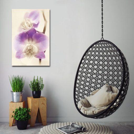 fioletowe dekoracje