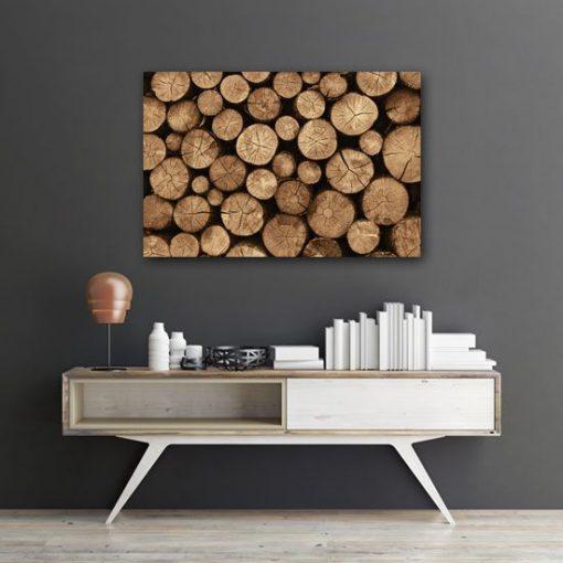 ozdoby z drewnem