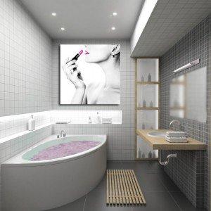 obrazy na ścianę w łazience