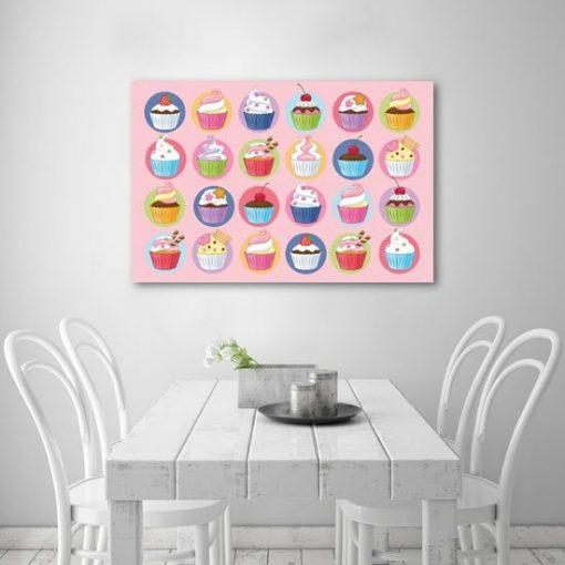 obrazy z muffinkami
