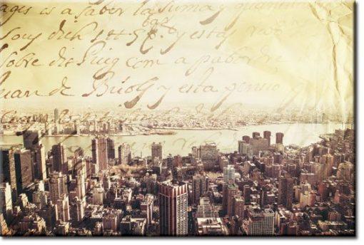 obrazy z Manhattanem