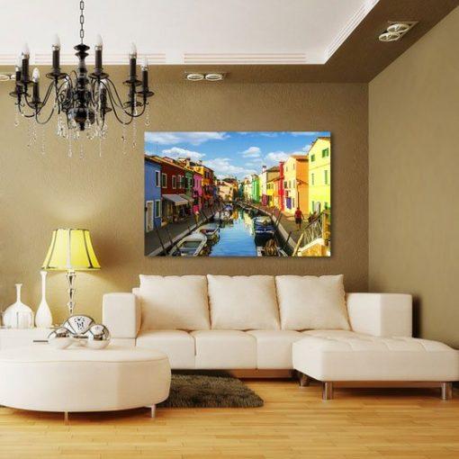 kolorowe obrazy z Wenecją