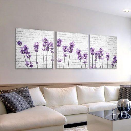 dekoracje z kolorem fioletowym