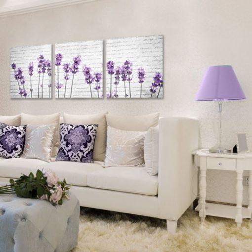 dekoracje fioletowe