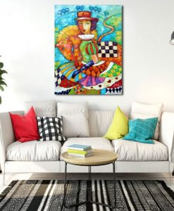 bajkowy obraz jak malowany