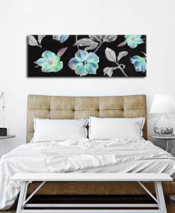 dekoracja z motywem florystycznym