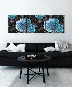 dekoracje z motywem florystycznym