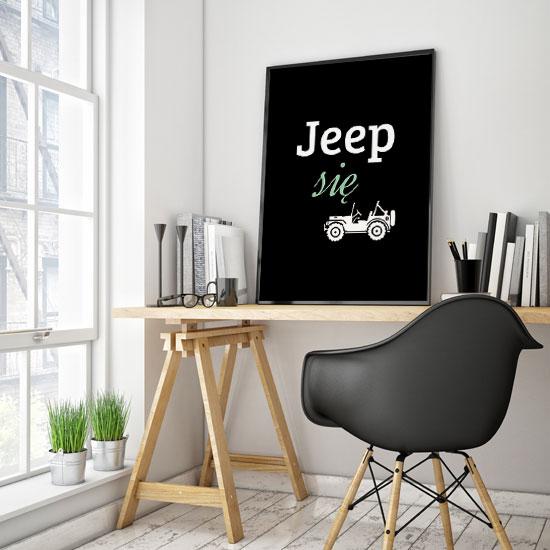 Obraz Jeep Się