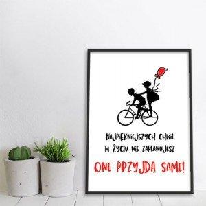 Obraz do salonu stary rower