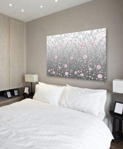 obraz z motywem kwiatowym