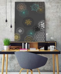 dekoracje z grafiką