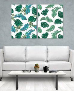 dekoracje z motywem tropikalnym