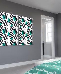 ozdoba ścian do salonu