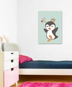 obrazy z pingwinem