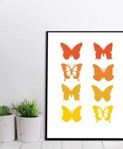 dekoracje z motylami