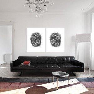obrazy dzielone do salonu