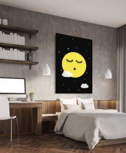 dekoracje z księżycem