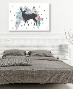 dekoracjke z jeleniami