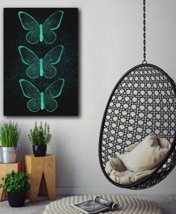 dekoracje z motylkami