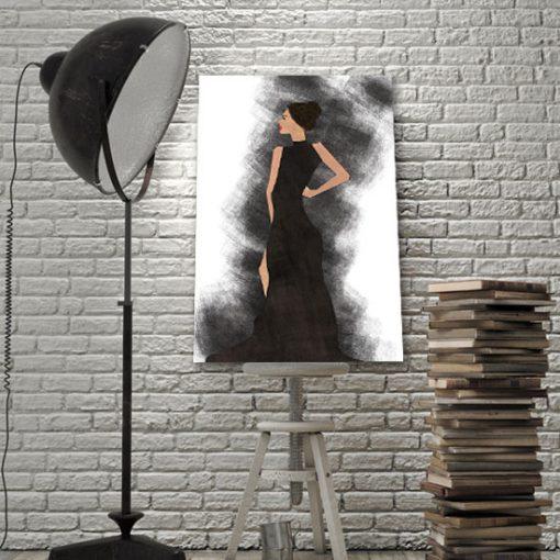 obrazy do salonu glamour