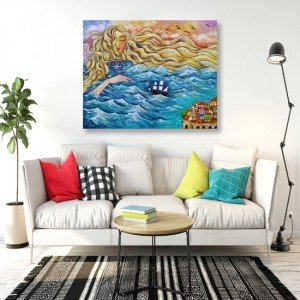 Motywy morskie na ścianę