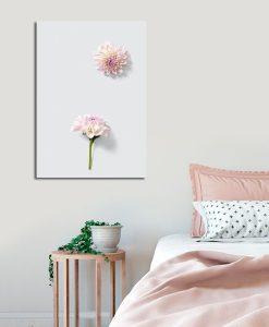 Obraz z kwiatami do salonu