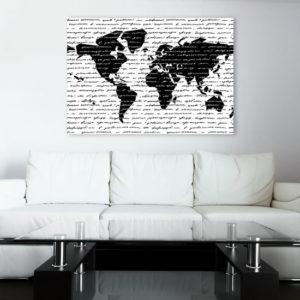 obrazy mapy