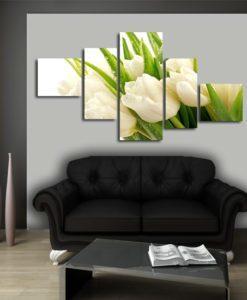 obrazy tulipany