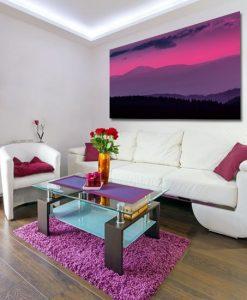 obraz fioletowy