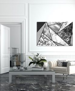 biało-czarny obraz z fakturami