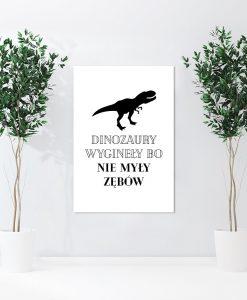 czarny dinozaur na obrazie z białym tłem