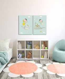 dziecięce motywy na obrazach