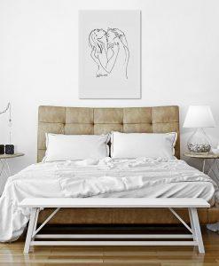 obrazy miłosne do sypialni