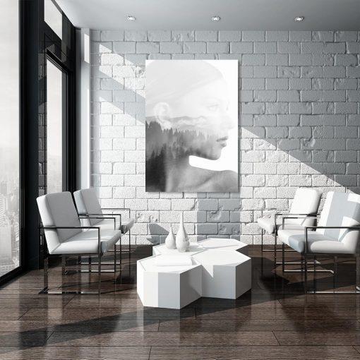Skandynawski obraz do salonu