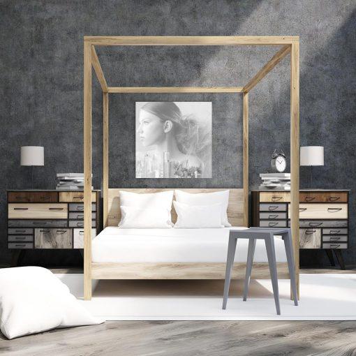 Obraz kwadratowy na ścianę do sypialni
