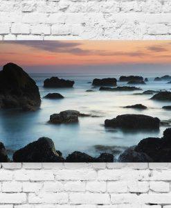Obraz skały i morze
