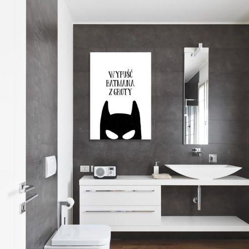 Obraz napis i batman